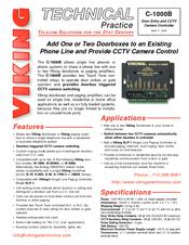 [ZSVE_7041]  Viking W-2000A Manuals | ManualsLib | Viking 2000a Intercom Wiring Diagram |  | ManualsLib