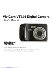 vivitar vivicam t324n manuals rh manualslib com Vivitar Monster High Camcorder User Manual Vivitar Film Camera