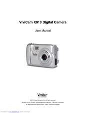 vivitar vivicam x018 user manual pdf download rh manualslib com Vivitar ViviCam 8400 Vivitar ViviCam 7122