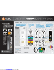 vizio vf550xvt1a 55 lcd tv manuals rh manualslib com Vizio TV Schematics Vizio Repair Manuals