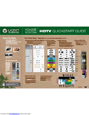vizio vo420e 42 lcd tv manuals rh manualslib com vizio vo320e manual Vizio VO420E Specs