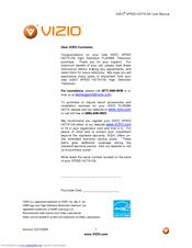 vizio vp503 hdtv10a manuals rh manualslib com Vizio TV Schematics Vizio TV Problems