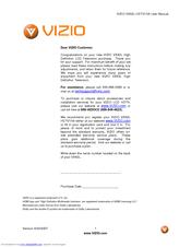 vizio vx42l hdtv10a manuals rh manualslib com Vizio TV Vizio VX42L Parts