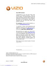 vizio vx37l user manual pdf download rh manualslib com Settings for Vizio LCD TV Vizio VX37L Stand