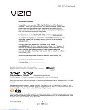 vizio vht510 manuals rh manualslib com vizio sound bar vht510 manual vizio vht510 review