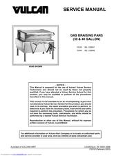 vulcan hart ml 126848 manuals rh manualslib com Vulcan Oven Manuals Vulcan Commercial Stoves and Ovens
