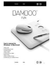 wacom bamboo fun manuals rh manualslib com wacom bamboo tablet user manual wacom bamboo pad review