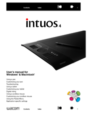 Ptkl digitizer user manual intuos4 user's manual for windows.