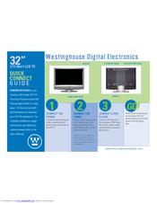 westinghouse ltv 32w1 hd ready 32 lcd tv manuals rh manualslib com Westinghouse TV Remote Manual Westinghouse TV Remote Manual