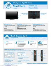 westinghouse ltv 46w1 hd manuals rh manualslib com Westinghouse TV Problems Westinghouse TV Remote Manual