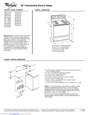 Whirlpool GR563LXS Product Dimensions