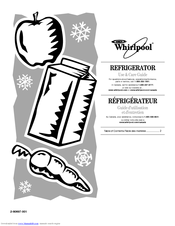 whirlpool refrigerator moving instructions