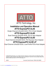 ATTO EXPRESSPCI FCSW DOWNLOAD DRIVERS