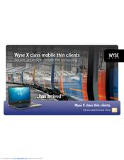 WYSE X90CW BROCHURE & SPECS Pdf Download