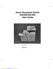 Xerox Document Centre 220 User Manual