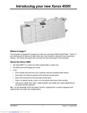 xerox 4595 manuals rh manualslib com