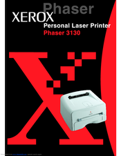 Xerox 3130 - Phaser B/W Laser Printer User Manual