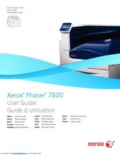 xerox phaser 7800gx manuals rh manualslib com  phaser 780 service manual