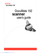 xerox documate 152 manuals rh manualslib com documate 152 scanner manual xerox documate 152 manual pdf