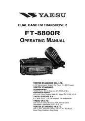 yaesu ft 8800 manuals rh manualslib com Yaesu 8800 Mods yaesu ft 7800 service manual