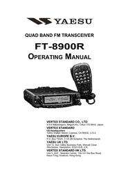 Yaesu FT-8900R Operating Manual