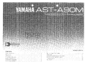 Yamaha AST-A90M Owner's Manual