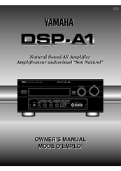 Yamaha DSP-A1 Owner's Manual