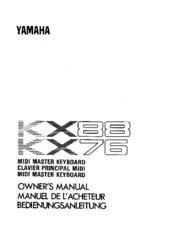 yamaha kx88 manuals rh manualslib com yamaha kx88 service manual Repair Manuals