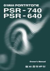 yamaha portatone psr 640 owner s manual pdf download rh manualslib com Yamaha PSR 280 manual de teclado yamaha psr 640