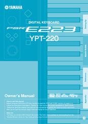 yamaha ypt 220 manuals rh manualslib com yamaha ypt-220 manual pdf yamaha ypt-220 manual pdf