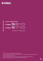 yamaha psr s910 manuals rh manualslib com yamaha psr s910 user manual Keyboard Yamaha PSR 710