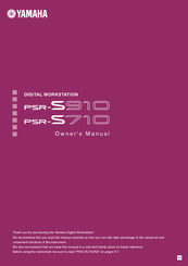 yamaha psr s710 owner s manual pdf download rh manualslib com psr s910 manual psr s910 manual