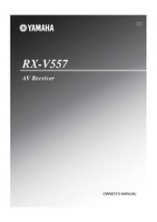 yamaha rx v557 manuals rh manualslib com yamaha receiver rx-v557 manual yamaha rx-v557 manual pdf