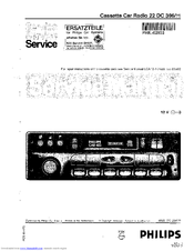 philips car 400 service manual pdf download rh manualslib com philips car 400 user manual pdf manual service philips car 400.pdf