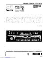 philips car 400 service manual pdf download rh manualslib com philips car 400 manual español philips car 400 radio manual
