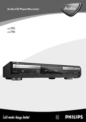 PHILIPS CDR796-05S Manual