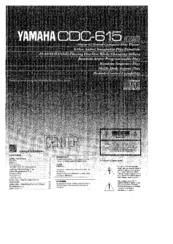 Yamaha cdc 615 manuals for Yamaha cdc 675