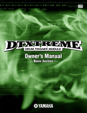 yamaha dtxtreme owner s manual pdf download rh manualslib com DTXtreme IIS Electronic Drum Kit Yamaha DTXtreme Drum Module