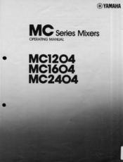 Yamaha MC1204 User Manual