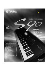 yamaha s90 manuals rh manualslib com yamaha s970 manual yamaha 90 manual