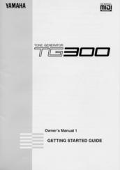 yamaha tg300 manuals. Black Bedroom Furniture Sets. Home Design Ideas