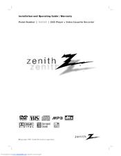 zenith xbv343 manuals rh manualslib com Zenith VCR Owner's Manual Zenith TV Troubleshooting