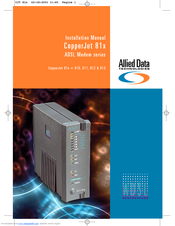 Allied Data CopperJet 810 Drivers for Windows 10