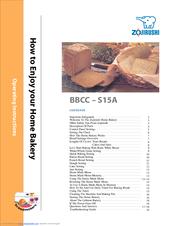 zojirushi bbcc s15a operating instructions manual pdf download rh manualslib com zojirushi bread machine bbcc s15 manual zojirushi bread machine bbcc-s15a manual