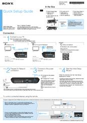 sony nsz gs7 quick setup manual pdf download rh manualslib com sony walkman digital media player nwz-e354 manual sony walkman digital media player nwz-e384 manual