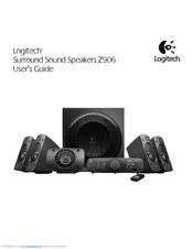 logitech z906 user u20ac s guide user manual pdf download rh manualslib com Logitech Z-5500 Logitech Speaker Wall Mount