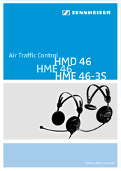 sennheiser hme 46 manuals rh manualslib com sennheiser 4.50 user manual sennheiser e835 user manual