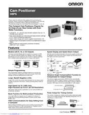 OMRON H8PS Manual