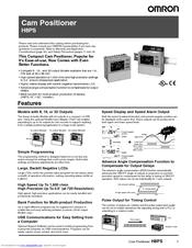 OMRON H8PS Manual