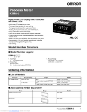 omron k3ma j manual pdf